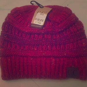 Red C.C hat